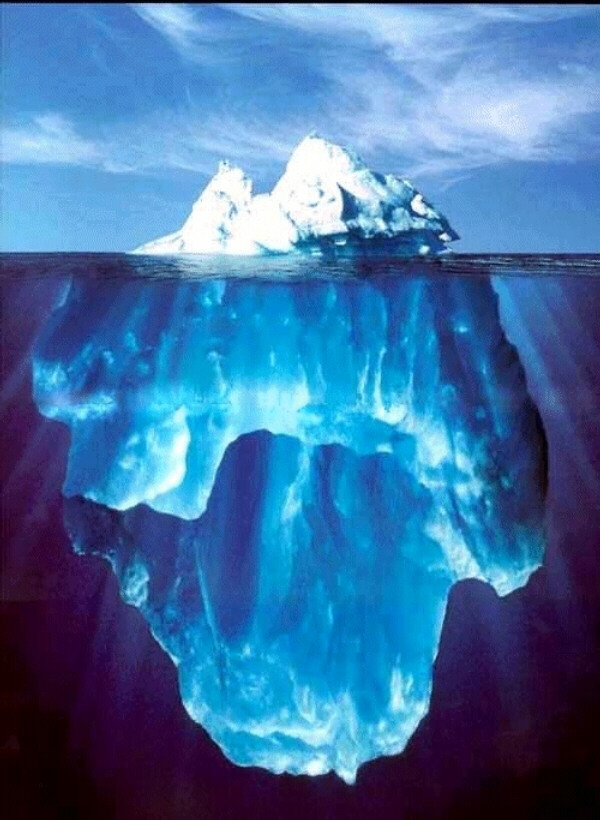 54 be grateful for icebergs