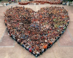 love people large heart